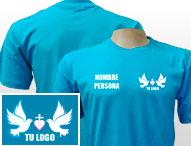 Camisetas para eventos o grupos de iglesias personalizadas