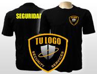 Camisetas empresas seguridad personalizadas