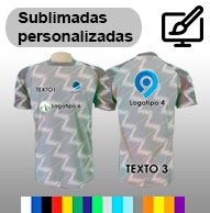 Camisetas totalmente sublimadas