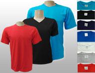 Camisetas de algodon punto liso en inventario