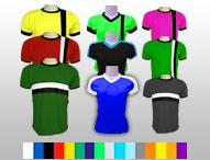 Camisetas deportivas dry fit ESTILO COMBINADO POR PEDIDO